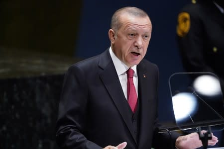 Erdogan says efforts with U.S. for Syria safe zone on schedule