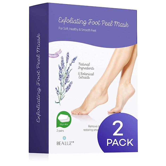 bealuz, best foot peel masks