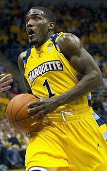 Darius Johnson-Odom is putting up 15.7 points per game for Marquette