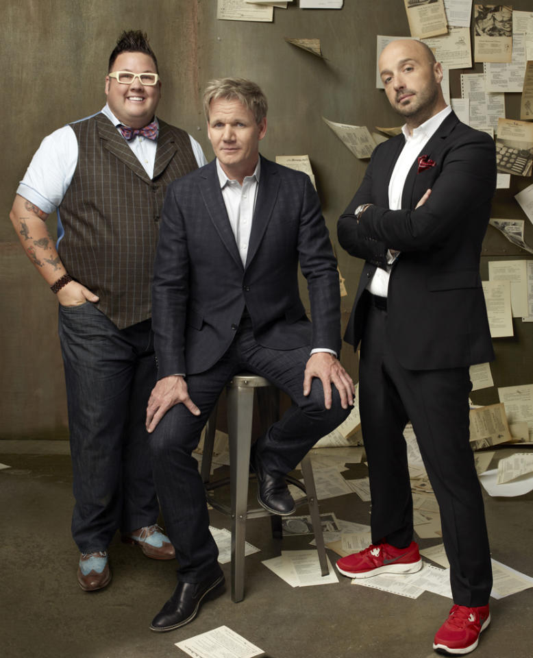 """<P><B>""""Masterchef"""" (Fox) </b><br> <br><B>Returns June 4 </b> <br> <br>Two nights of """"Hell's Kitchen"""" weren't enough of Gordon Ramsay for Fox's liking, so now there is this show on Mondays as well. Just because. Here, Gordon teams up with Joe Bastianich and Graham Elliot again to find the best amateur chef in the country -- and then yell at the people when they don't have enough experience to perform specialized techniques properly. </P>"""