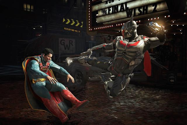 best new games of the month injustice supermankicked