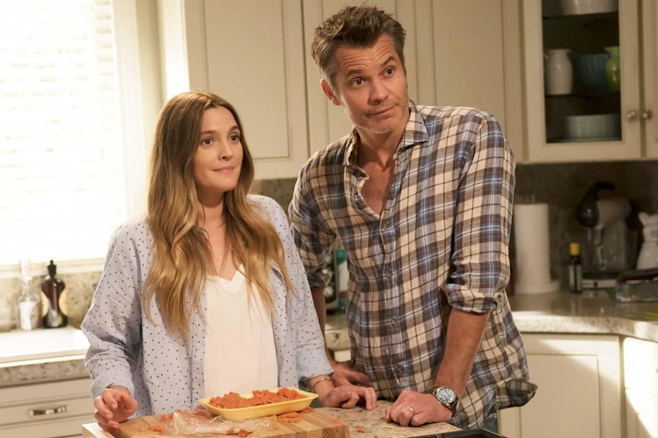 Drew Barrymore and Timothy Olyphant in 'Santa Clarita Diet' Netflix