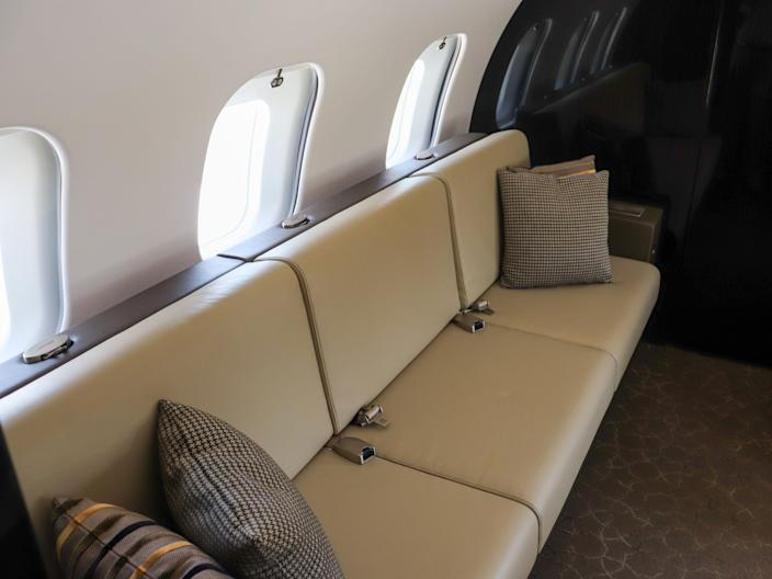 Bombardier Global 6500 private jet