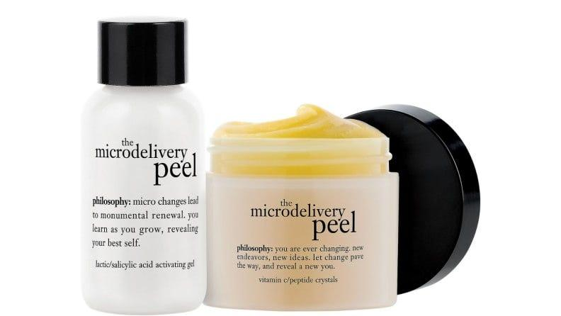 This face peel is positively refreshing.