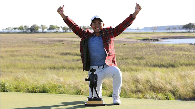 Maiden winner Pan claims RBC Heritage as Johnson capitulates
