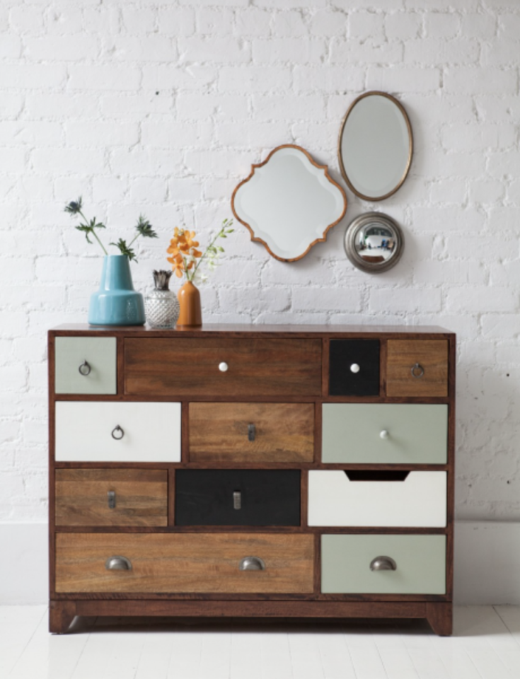 <p>Rose And Grey will have you falling head over heels in love with furniture, yes really. Their standout pieces featuring rustic and retro vibes are truly exquisite (and not too expensive either). [Photo: Rose and Grey] </p>