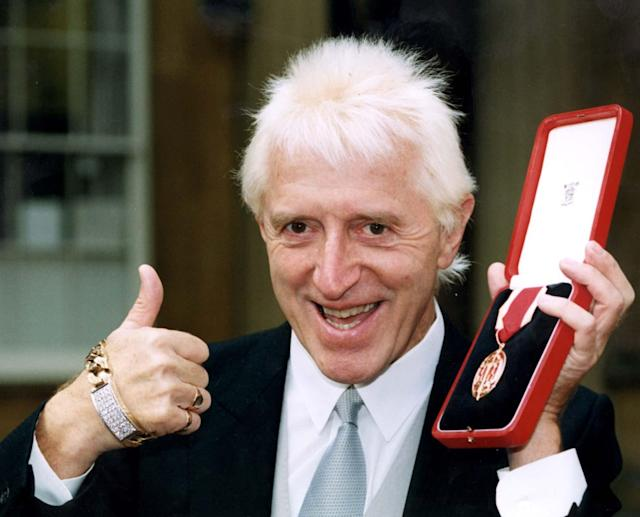 There were calls for Jimmy Savile to have the knighthood removed posthumously. (Press Association)