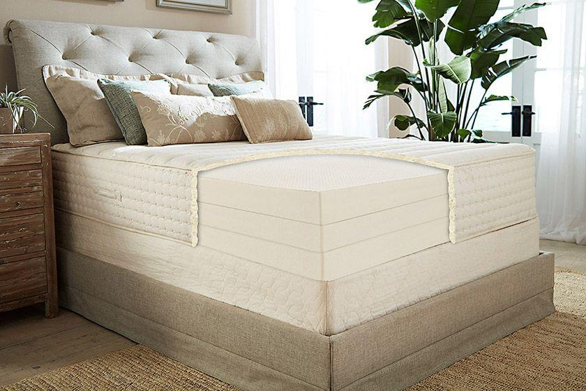 The Botanical Bliss Organic Latex Mattress (Photo: PlushBeds.com)