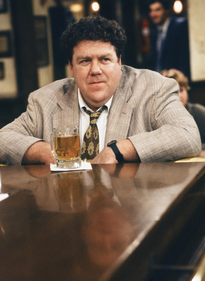 """<b>George Wendt</b> as Norm Peterson, """"Cheers"""" (1982-1993)<br><br>Outstanding Supporting Actor in a Comedy Series<br><br>0 wins, 6 consecutive nominations (1984-1989)"""
