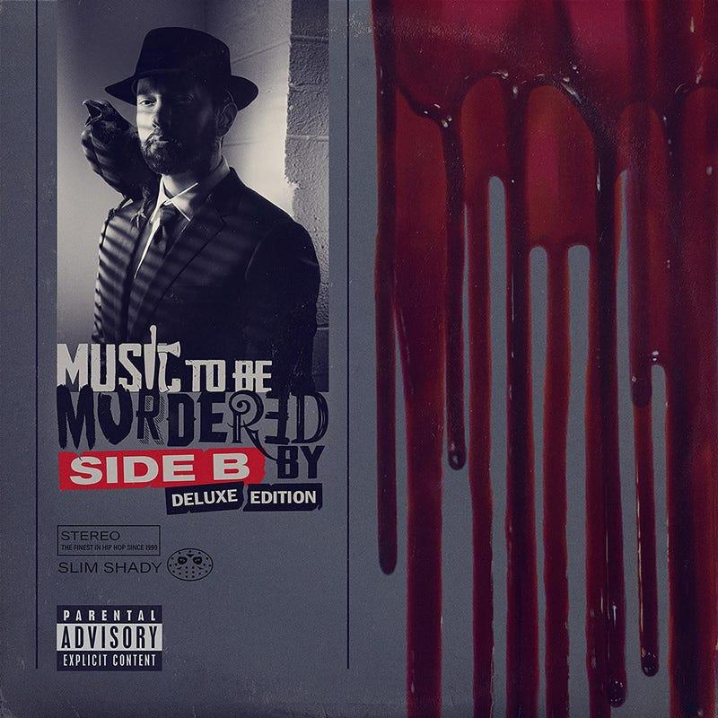 "Cover of Eminem's ""Music to Be Murdered By -- Side B Deluxe Edition,"" released Dec. 18, 2020."