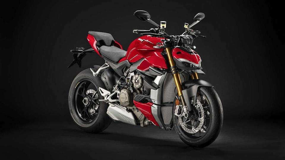 Ducati Streetfighter V2 previewed in a spy shot; unveiling soon