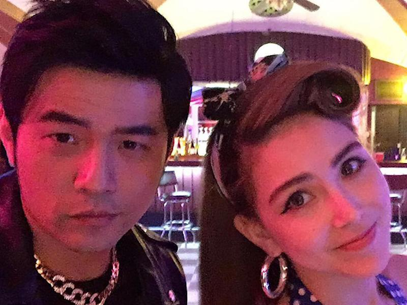 Hannah Quinlivan spotted in the crowd at Jay Chou's Singapore concert. (Photo: Cinema Online)