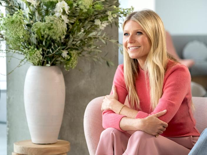 The stories behind Gwyneth Paltrow's lifestyle site, Goop, are getting its own Netflix series.