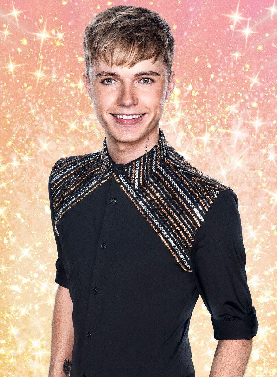 HRVY is one of 12 contestants on this year's Strictly Come Dancing (Photo: BBC)