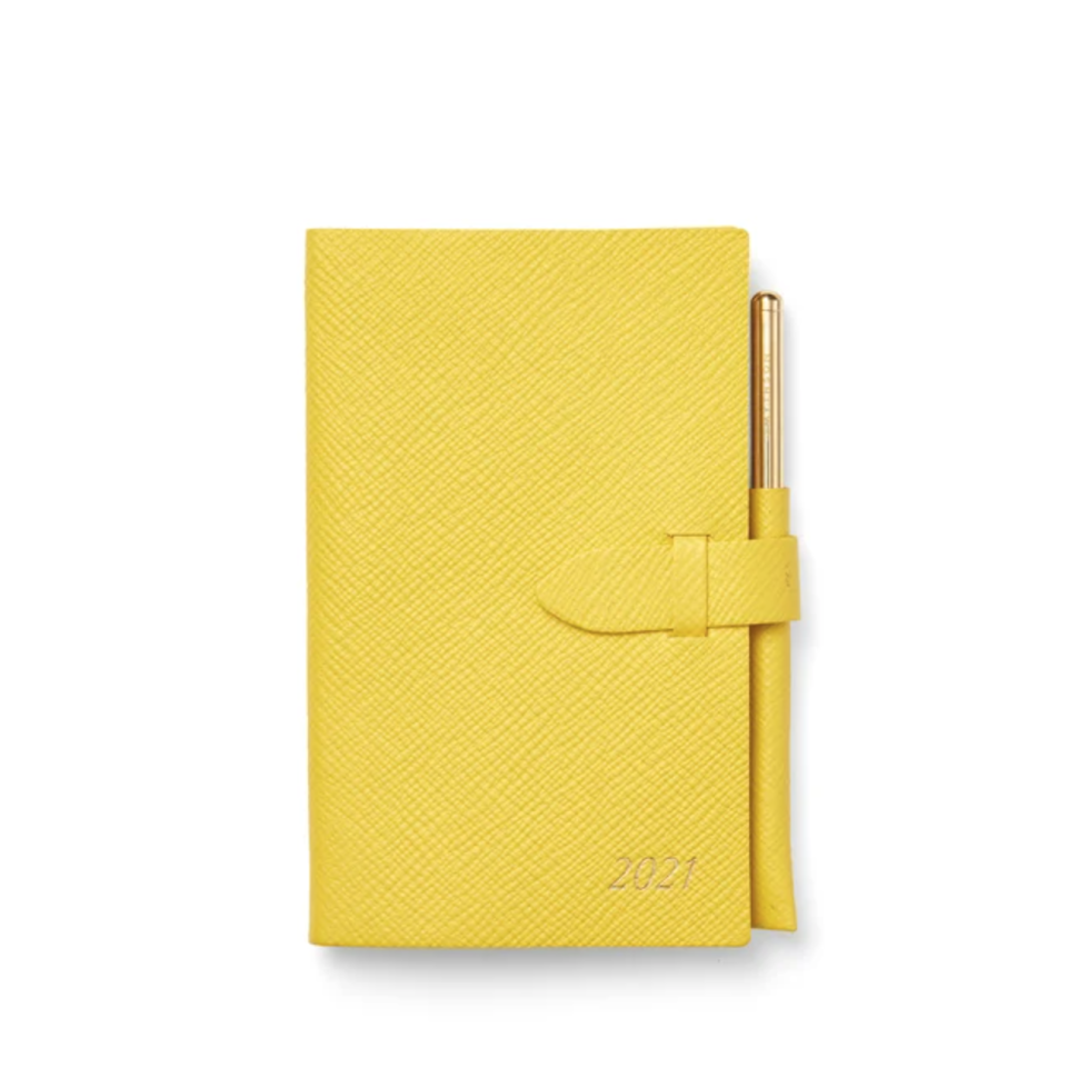 2021 Panama Diary with Gilt Pencil. Image via Smythson.