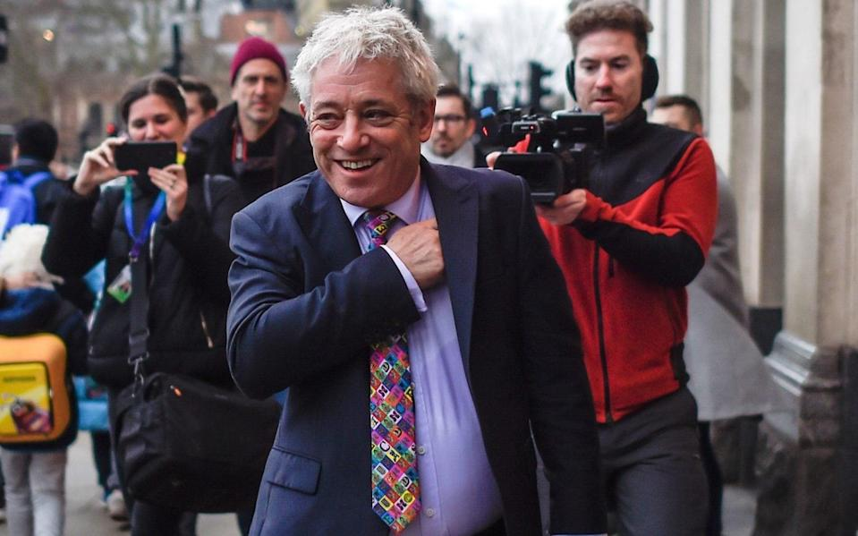 John Bercow - Peter Summers /Getty Images Europe