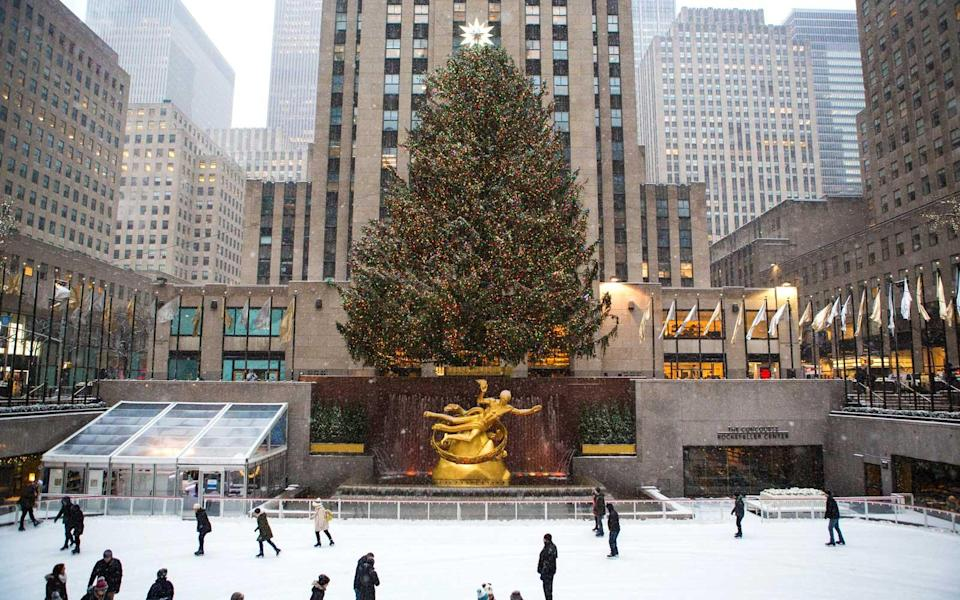"""<p>The iconic Rockefeller tree gets special treatment in more than a few movies, and """"Home Alone 2"""" and """"Elf"""" are two of the best for getting into that Christmas spirit. Rent some skates or just enjoy the view of the tree that, tall as it is, is no match for the grandeur of Rockefeller Center. </p>"""