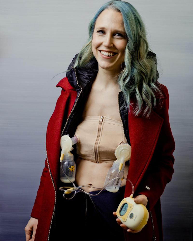 Josephine Decker Sundane 2020 'Shirley' Breast Pump