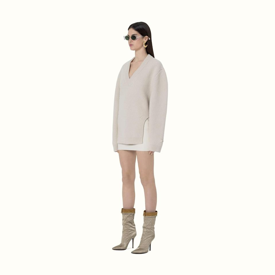 <p>The style of this <span>Fenty Pullover With Rounded Cutouts</span> ($860) is so cool.</p>