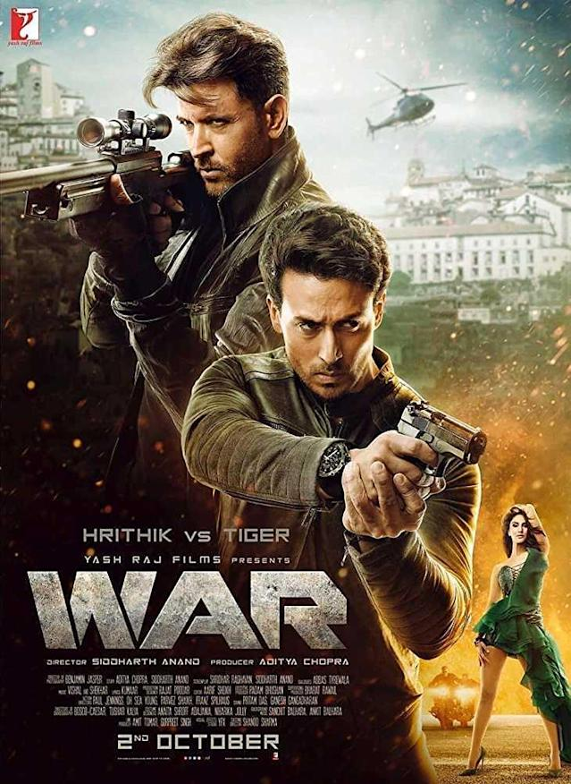 Hrithik Roshan and Tiger Shroff's high-octane action drama film 'War' hit the theatres on account of Gandhi Jayanti. Directed by Siddharat Anand, 'War' released in Hindi, English and Telugu and received decent response from the audience and critics alike. Based on a cat and mouse game between two agents after one decides to go rogue and turns into a killing machine, 'War' sees Hrithik and Tiger battle it out in an epic face-off.