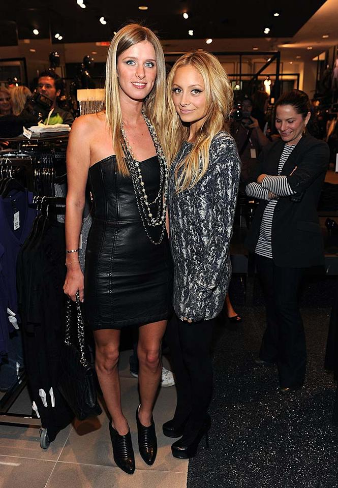 "Nicky Hilton and Nicole Richie attended the H&M Presents The Season's Most Fashionable Gifts event in West Hollywood. The budget retailer is known for its collaborations with top designers, including Stella McCartney and Roberto Cavalli. Do you think Nicky pulled off her leather and chains look? Jordan Strauss/<a href=""http://www.wireimage.com"" target=""new"">WireImage.com</a> - November 11, 2008"