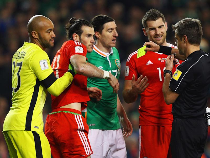 Gareth Bale will miss Wales' next game against Serbia: Getty