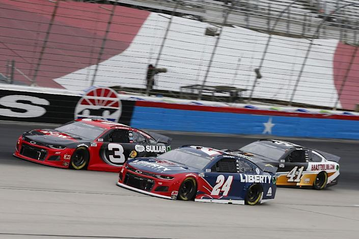 Wet Texas NASCAR Cup race delayed to Tuesday