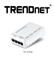 TRENDnet(R) Ships Powerline 500 AV Adapter With Four Integrated Ports