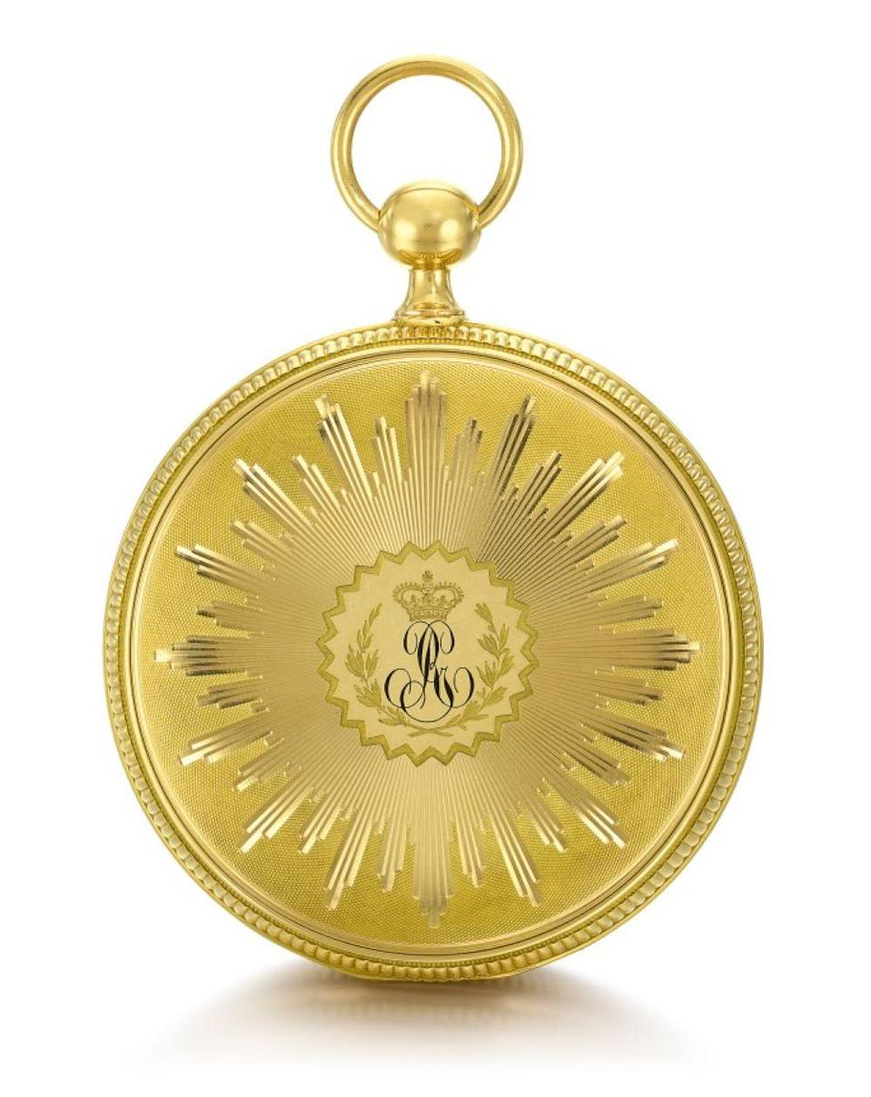 The watch was made in 1808