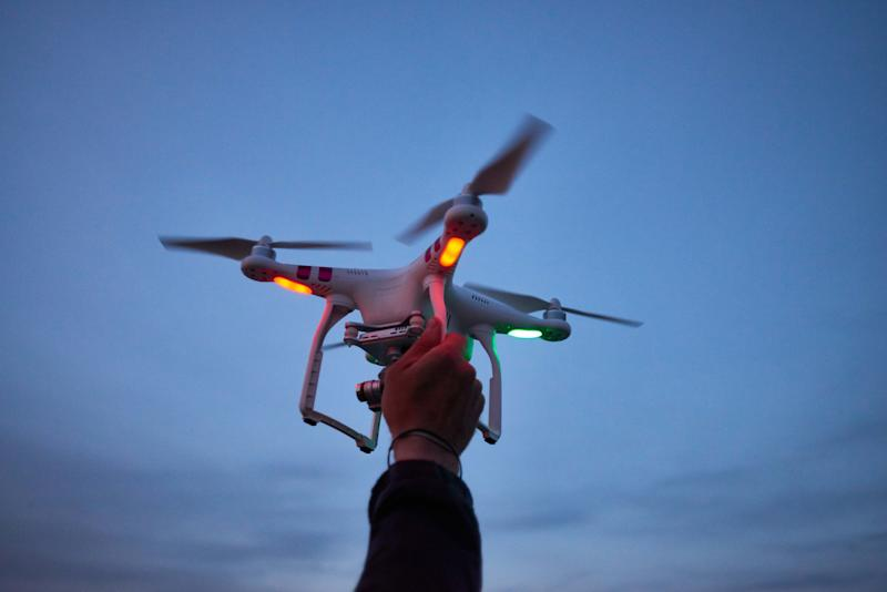 Drones are becoming less expensive and easier to operate. (Getty Images)