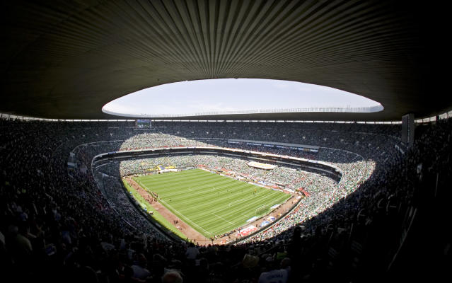 Estadio Azteca is guaranteed to host World Cup games in 2026, if the United States-Mexico-Canada joint bid is approved. Are there any other surefire sites? (Getty)
