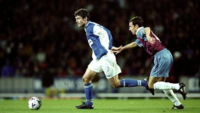 <p>Sutton helped form the unstoppable 'SAS' alongside Alan Shearer, as Blackburn won the title in 1995.</p> <p>However, four years later the striker was part of the Rovers' side who were relegated from the Premier League.</p> <p>After stints with Chelsea and Celtic, Sutton arrived at Birmingham in January 2006.</p> <p>The striker was far past his best at this stage and only managed one goal in half a season, as the Blues were relegated.</p>