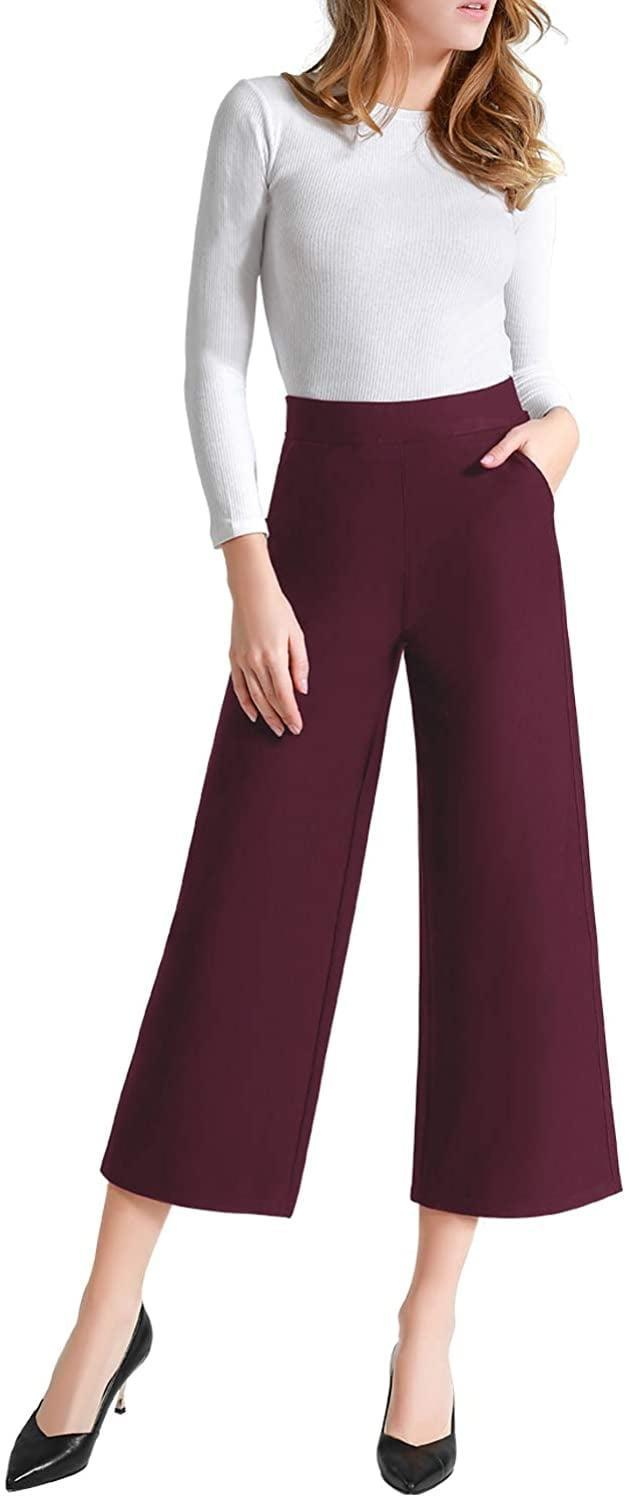 <p>These <span>Tsful Wide Leg Pants</span> ($33) come in several pretty fall-inspired shades.</p>