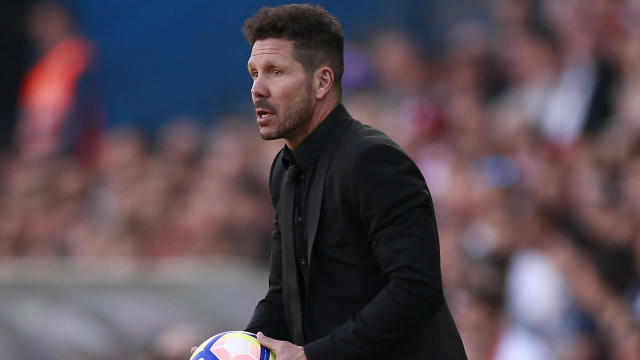 He may be one of the world's mostly highly rated coaches, but Diego Simeone says he would never take charge of Real Madrid
