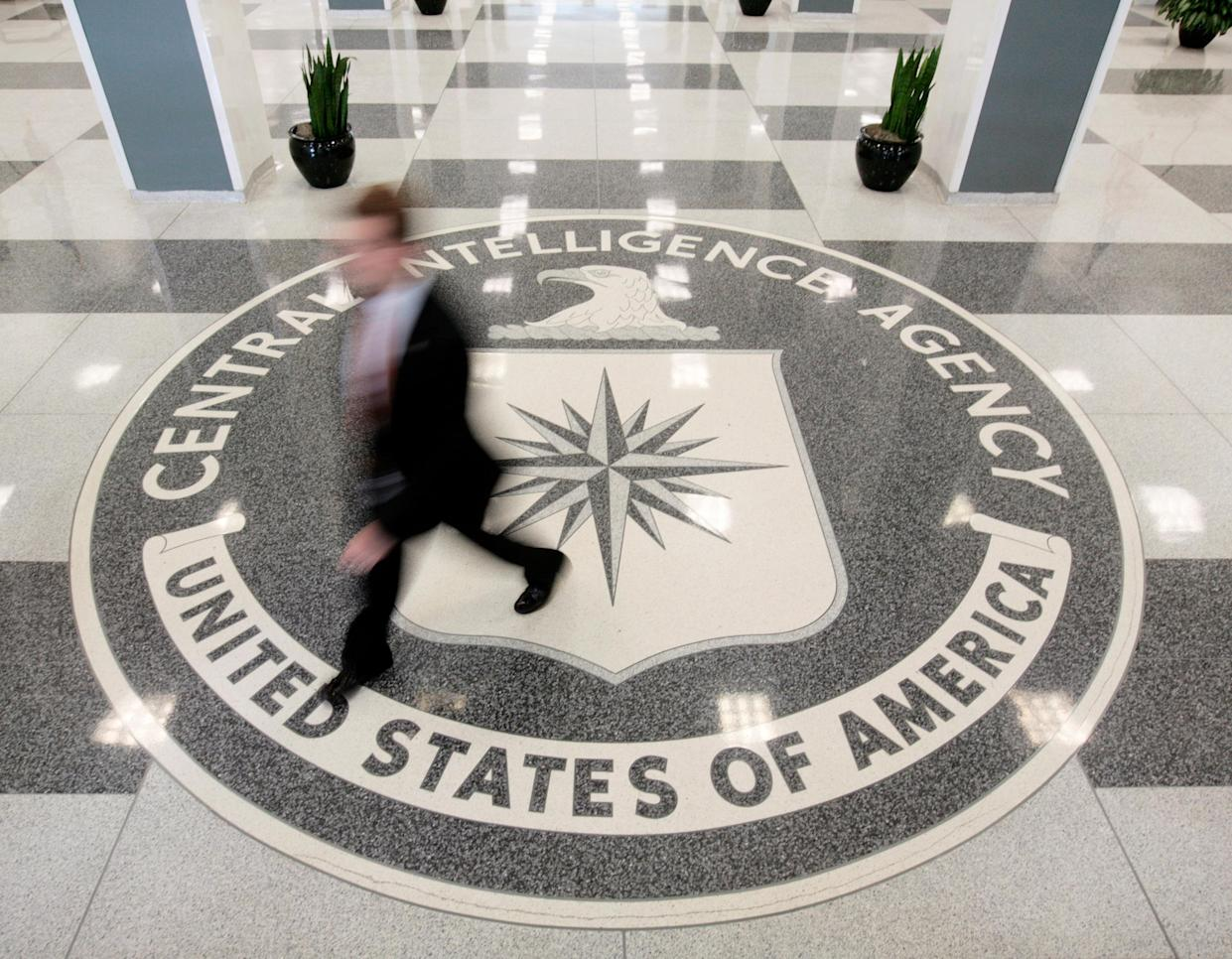 The lobby of CIA headquarters in Langley, Va. (Photo: Larry Downing/Reuters)