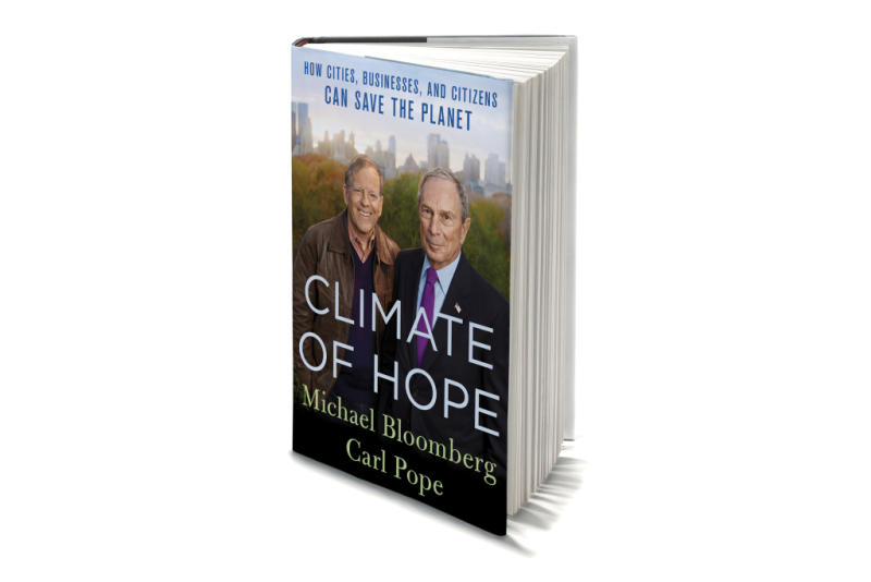 </a> Climate of Hope by Michael Bloomberg and Carl PopeCourtesy of St. Martin's Press