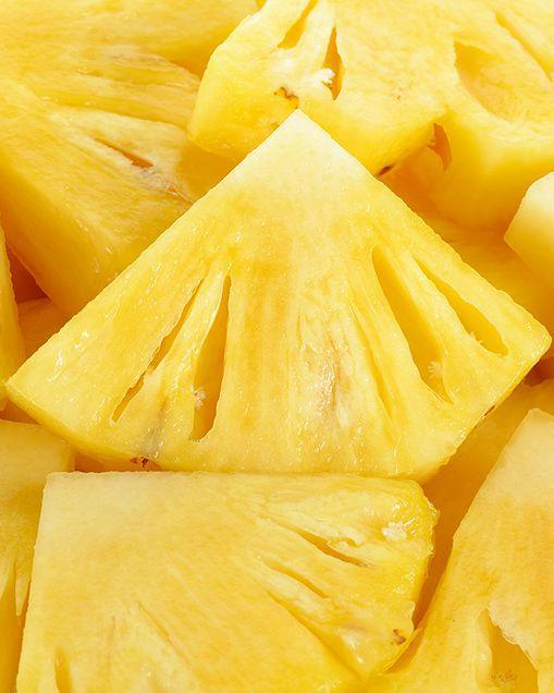 "<p>Fresh, tropical, juicy pineapple contains 79 milligrams of vitamin C per cup. And unlike most other fruits, it also contains significant amounts of the enzyme bromelain, which may help aid protein digestion. Bring on the piña coladas - or blend up a delicious <a rel=""nofollow"" href=""http://www.prevention.com/food/refreshing-summer-smoothies"">pineapple-basil smoothie</a>.</p>"
