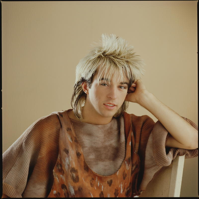 Limahl in 1983. (Photo: Mike Prior/Getty Images)