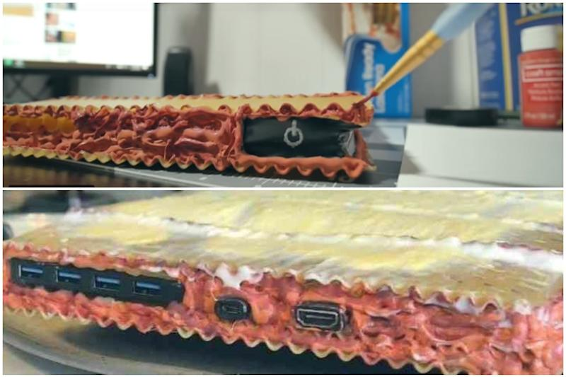 Lasagna PC: Spurred by Wife's Joke, YouTuber Builds World's First Ever 'Pasta Computer'