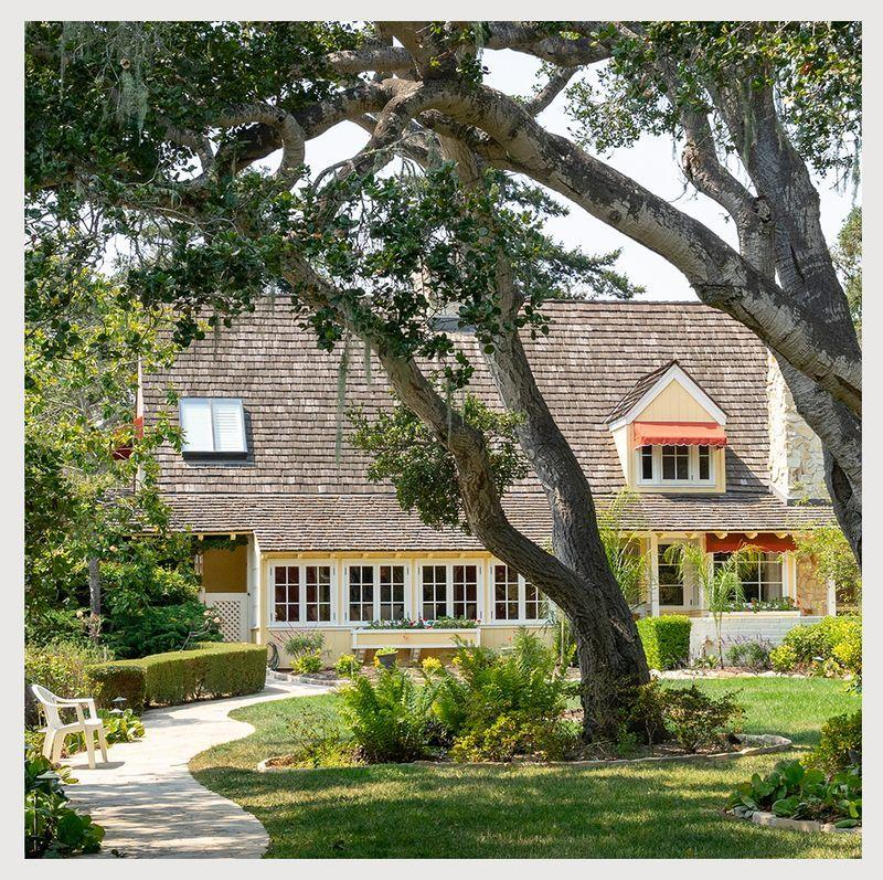 """<p class=""""body-dropcap"""">Doris Day was one of the biggest stars of the 1950s and 60s, so it seems only fitting that she had a home worthy of her stature. After the star's death last year at age 97, there was some question as to what would happen to her stunning Carmel Valley abode. Now, for the first time, it is for sale, at a cool $7.4 million. The secluded 8.62 acre property and home includes six bedrooms and eight bathrooms, some of which are in the compound's two gatehouse apartments or separate guest house cottage. The property includes its own oak trees, gardens, and views of the Santa Lucia mountains. Best of all, you can pretend be a celebrity by sauntering down the home's famous spiral staircase, which was featured in Day's sitcom """"The Doris Day Show.""""</p><p>Given that it's a celebrity home, Day's compound is not without its special quirks. An animal lover, Day made sure the home was just as luxurious for her furry friends. There's a 100-square foot enclosed """"cattery,"""" where the star's cats lived and a large dog-care area, complete with its own kitchen, and numerous paths for dog-walking. Fittingly, all proceeds from the home's sale will go to the animal charity Day founded in 1978, the Doris Day Animal Foundation.<br></p><p>The listing is held by Doug and Lisa Steiny of Sotheby's International Realty, and can be found <a href=""""https://www.sothebysrealty.com/eng/sales/detail/180-l-1189-s79q2t/6730-carmel-valley-road-carmel-ca-93923"""" target=""""_blank"""">here</a>. Keep reading for an inside look at the famed compound. </p>"""