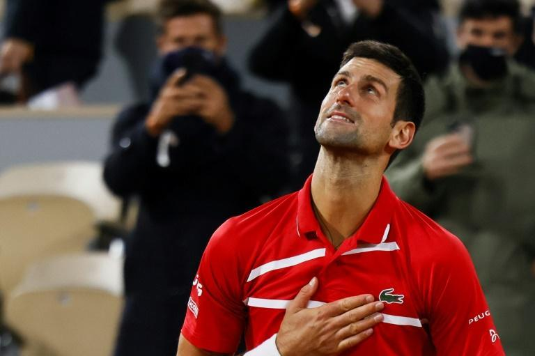 Novak Djokovic has won 17 Grand Slam titles