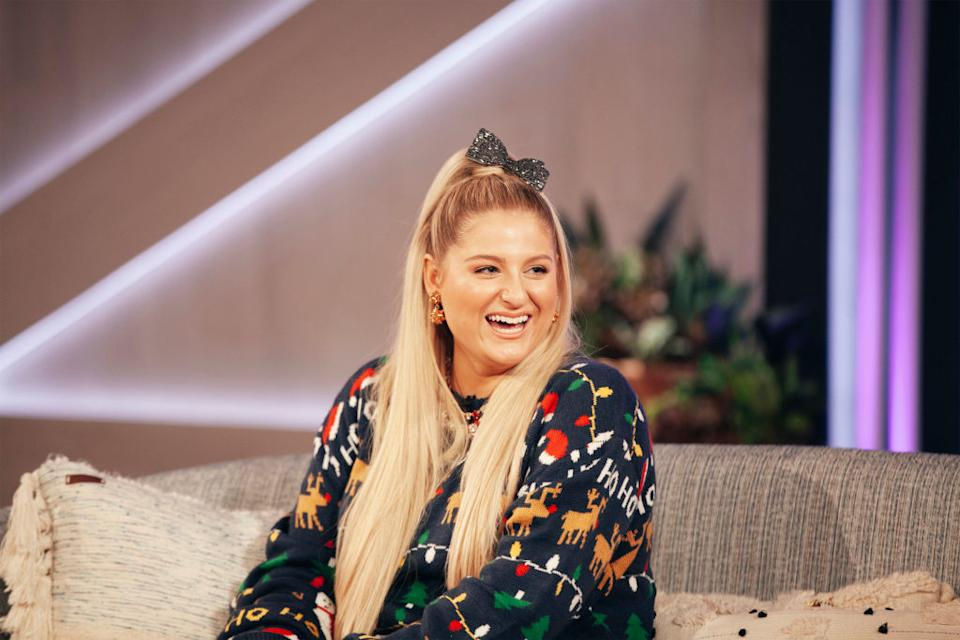 Meghan Trainor has opened up about sex during pregnancy, pictured in October 2020. (Getty Images)