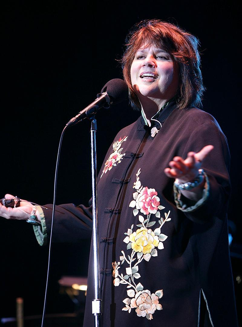 <p>Ronstadt, 70, has recorded multiplatinum albums in both English and Spanish. Her top seller is 1976's Greatest Hits (7 million). Her top-selling studio albums are Simple Dreams, What's New, and Cry Like a Rainstorm—Howl Like the Wind (3 million each). (Photo: Douglas Mason/Getty Images) </p>