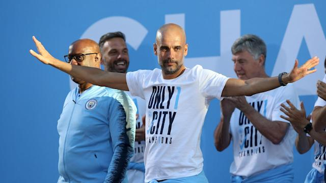 The Champions League represents the final frontier for Manchester City, but Pep Guardiola feels domestic dominance should be their target.