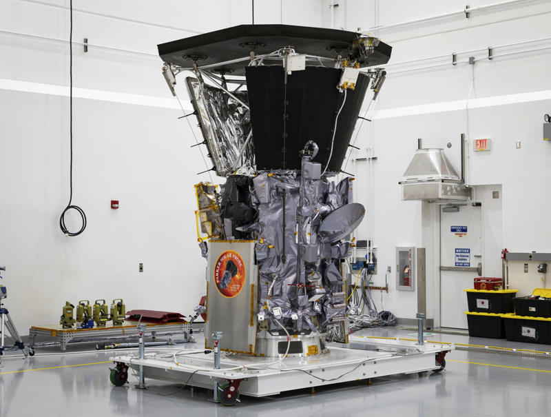 NASA spacecraft Park ers itself closest to the sun