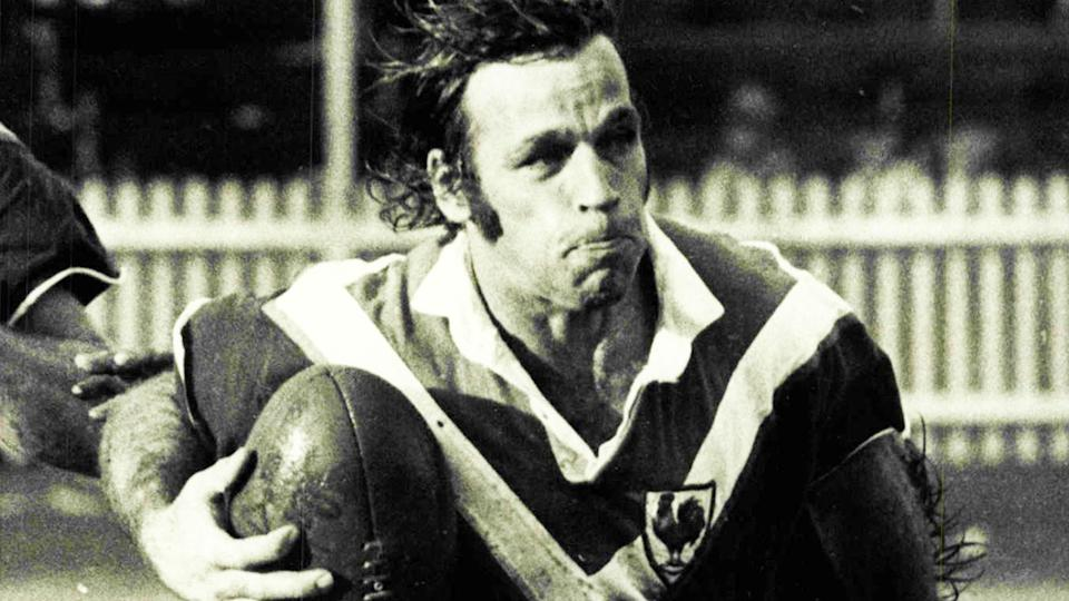 Harry Cameron, pictured here in action for Eastern Suburbs against Manly in 1973.