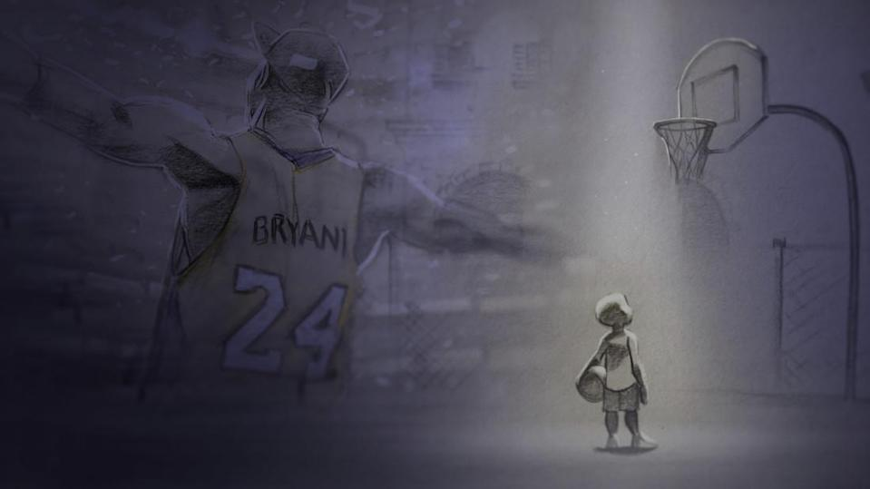 """<p>Kobe Bryant can now add an Oscar nod to his impressive résumé. The former Los Angeles Lakers superstar's ode to his sport, <a rel=""""nofollow"""" href=""""https://www.yahoo.com/entertainment/kobe-bryants-dear-basketball-150000958.html"""" data-ylk=""""slk:""""Dear Basketball,"""";outcm:mb_qualified_link;_E:mb_qualified_link;ct:story;"""" class=""""link rapid-noclick-resp yahoo-link"""">""""Dear Basketball,""""</a> which sets his poetry to the animation of Disney icon Glen Keane and the music of John Williams, made the cut for Best Animated Short. </p>"""
