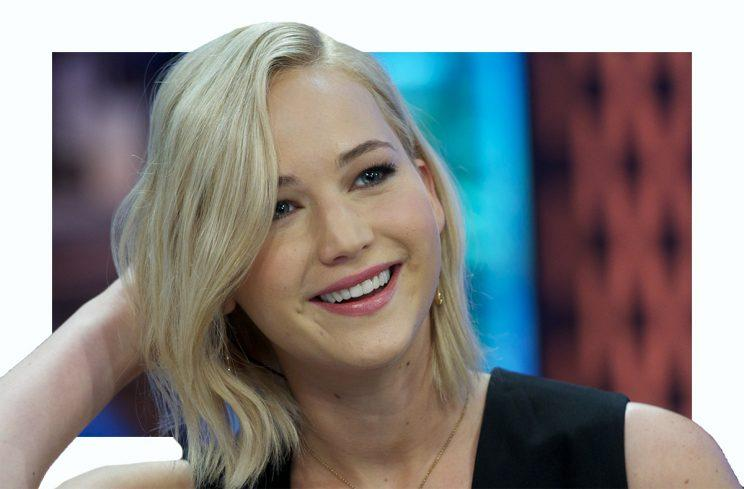 jennifer lawrence jennifer lawrence just got superlong hair extensions ...