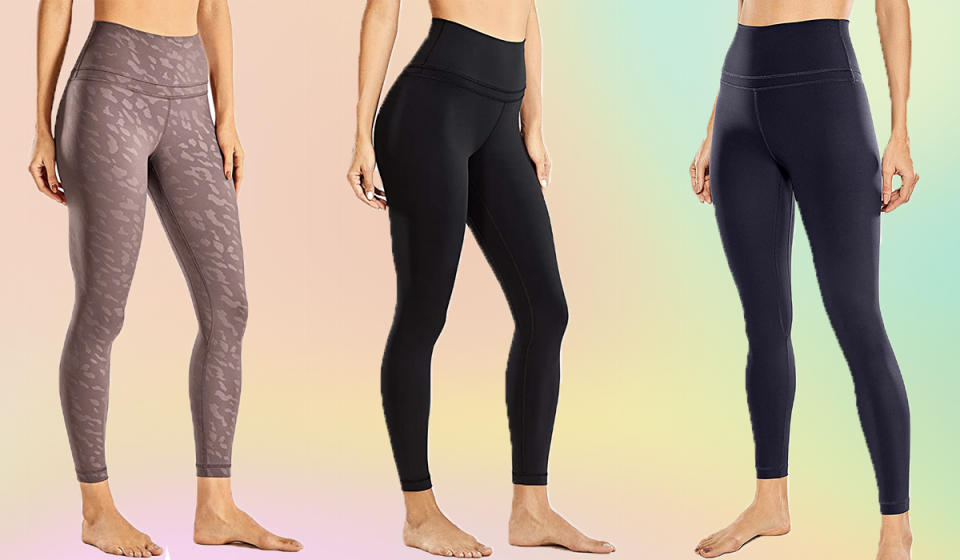 No Pomeranian, Pekingese or Persian can sully these leggings with pet poofs. (Photo: Amazon)