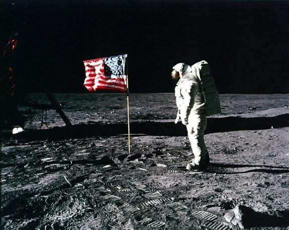 Faked Moon Landing? Conspiracy Beliefs Fall Along Party Lines